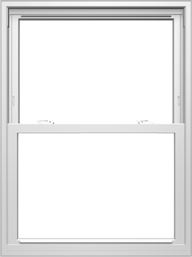 pella 250 series double hung window cut out background higher quality look